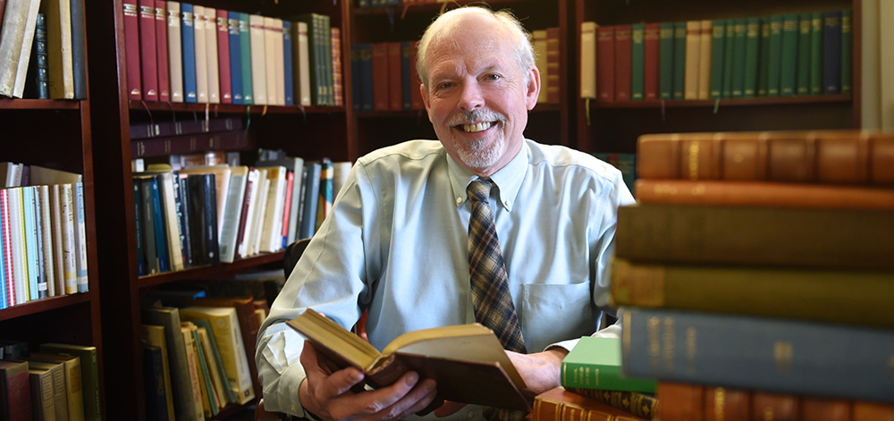 Dr. Richard Garner on Honors College, Giving Back, and the Classics