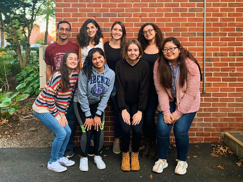 Group photo of the 2019 Honors Student Council members